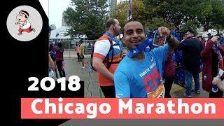 How to run a marathon. Chicago Marathon 2018. A fun experience