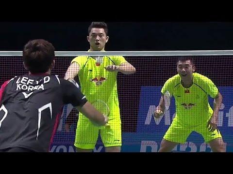 MD - Lee Yong Dae/Yoo Yeon Seong vs Chai Biao/Hong Wei - Destination Dubai 2014 - Day 5 Match 1