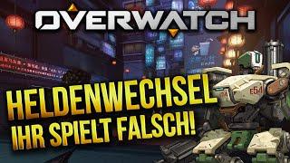 Overwatch #15   Heldenwechsel - So spielt ihr Overwatch richtig! ★ Let's Play Overwatch Gameplay