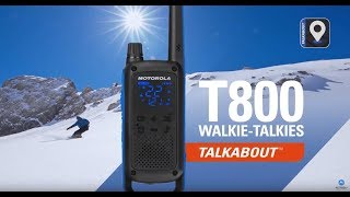 TALKABOUT T800 Walkie-Talkies - Go Beyond Push-To-Talk