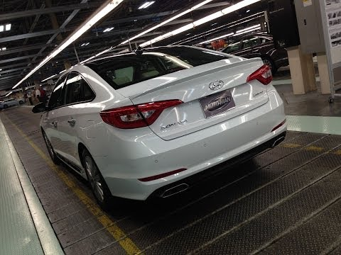 2015 Hyundai Sonata -- First Drive With Alabama Factory Tour & In Depth Apple Car Play Demo video