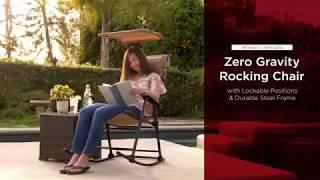 Zero Gravity Rocking Chair