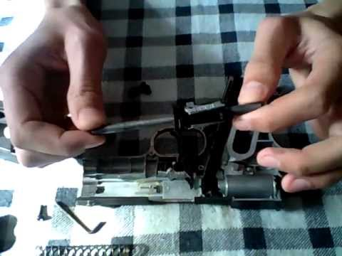 Разборка и сборка пневматического пистолета WinGun321.wmv
