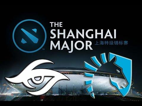 Shanghai Major Grand Final Team Secret vs Team Liquid game 1