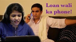 Loan wali ka Phone - | Lalit Shokeen Comedy |
