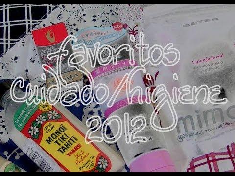 ♡¡Favoritos y productos estrella del 2012! (Cuidado/higiene)♡