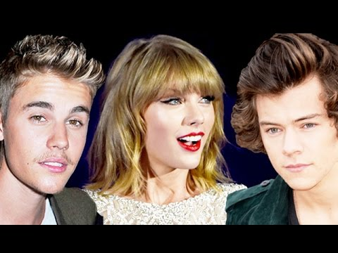 Taylor Swift Disses Justin Bieber & Harry Styles