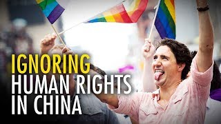 Ezra Levant: Trudeau grills China on gay marriage, not gulags
