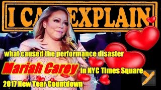 What caused Mariah Carey Lip-sync Failure in 2017 NYC New Year Countdown Show & Poll