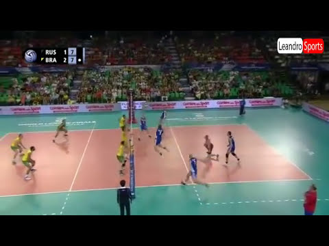 Sets, Brasil 3 x 1 Rússia - Liga Mundial de Vôlei Masculino 17/07/2014