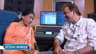 When Sanjay Dutt And Asha Bhosle Recorded A Song Together | Flashback Video
