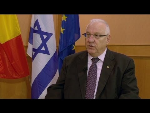 euronews interview - Reuven Rivlin :