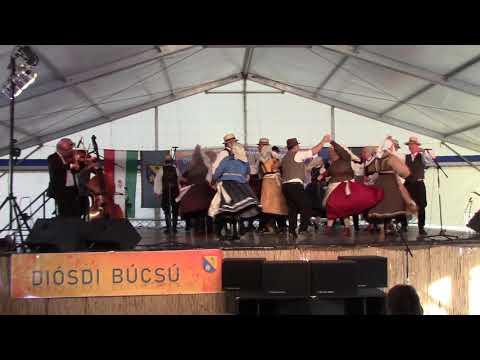 Naprózsafa Együttes - Mezőségi tánc - Diósd, 2019. szeptember