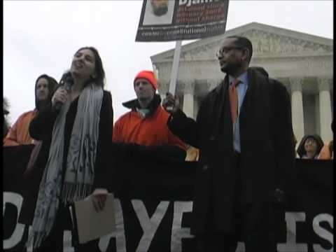 GITMO Spoken Word & Dance Protest at U.S. Supreme Court