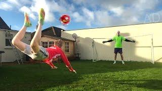 SCORPION KICK FOOTBALL CHALLENGE