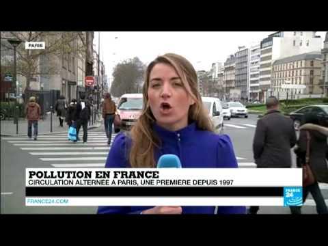 Pollution à Paris : 'les automobilistes ont joué le jeu'