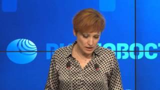Выступление Елизаровой Г.Ю., заместителя руководителя Федеральной службы
