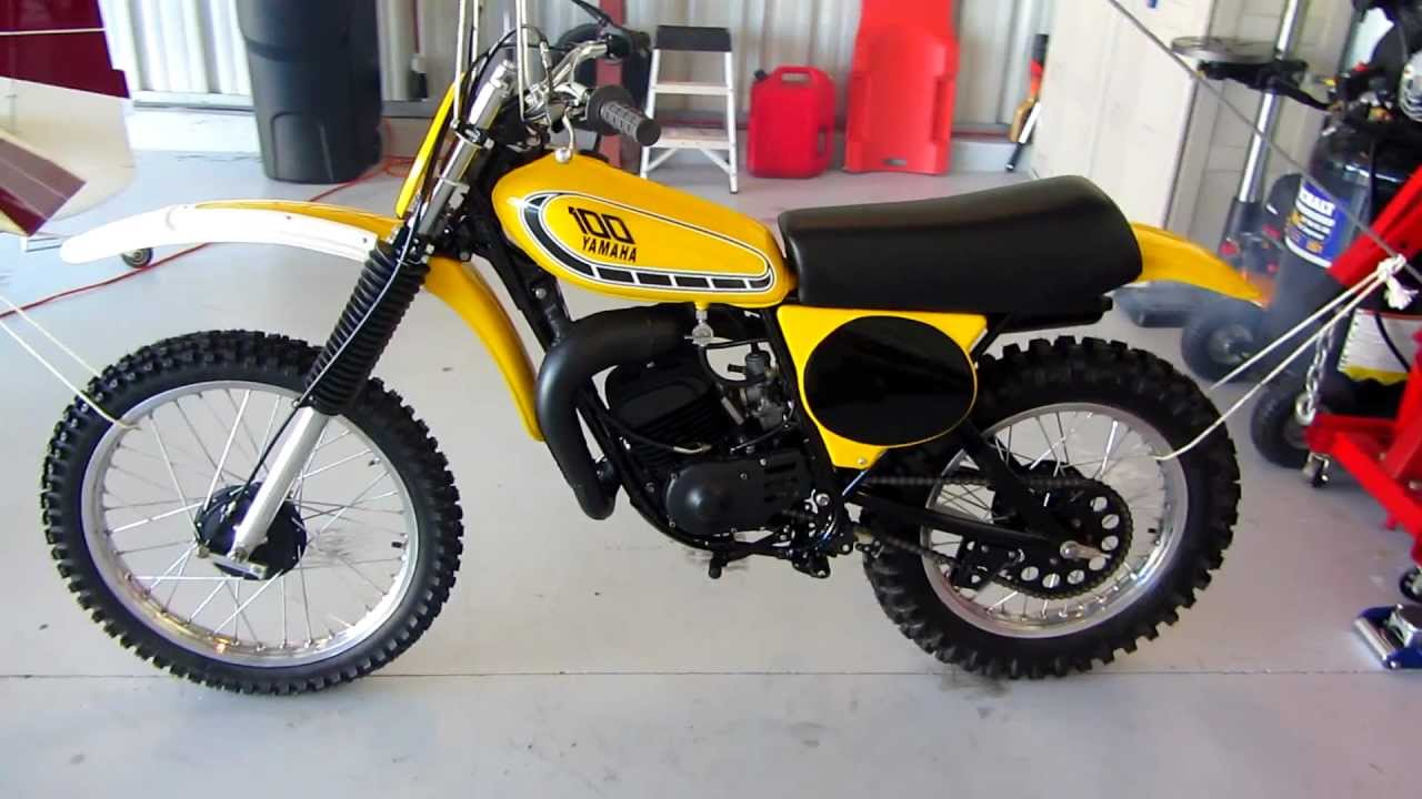 1976 yamaha yz100 motocross restoration ahrma youtube. Black Bedroom Furniture Sets. Home Design Ideas