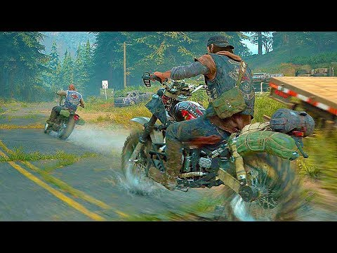 Days Gone - 50 Minutes New Gameplay Walkthrough Demo PS4 (E3 2018)