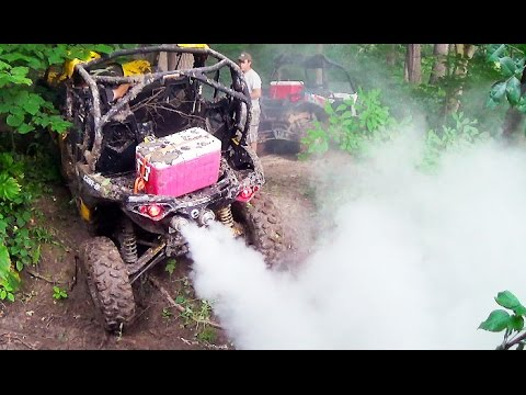 How to Break Axles on a Can-Am Maverick Max 1000 thats Lifted on 32s