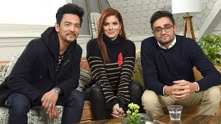 Debra Messing & John Cho on