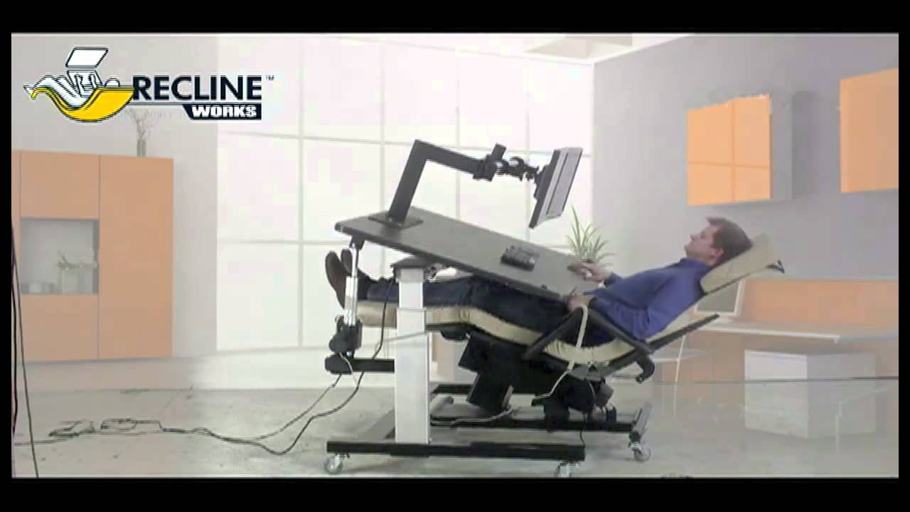 Zero Gravity Chair Workstation 1 Youtube