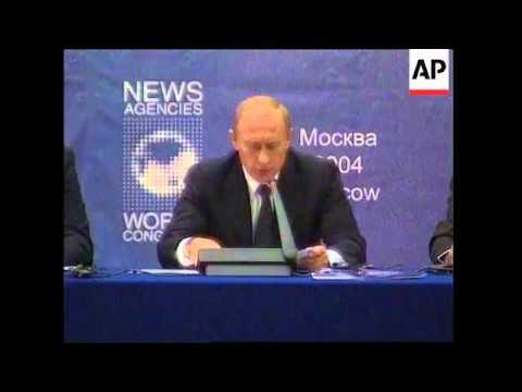 Putin denies Russia is returning to authoritarianism