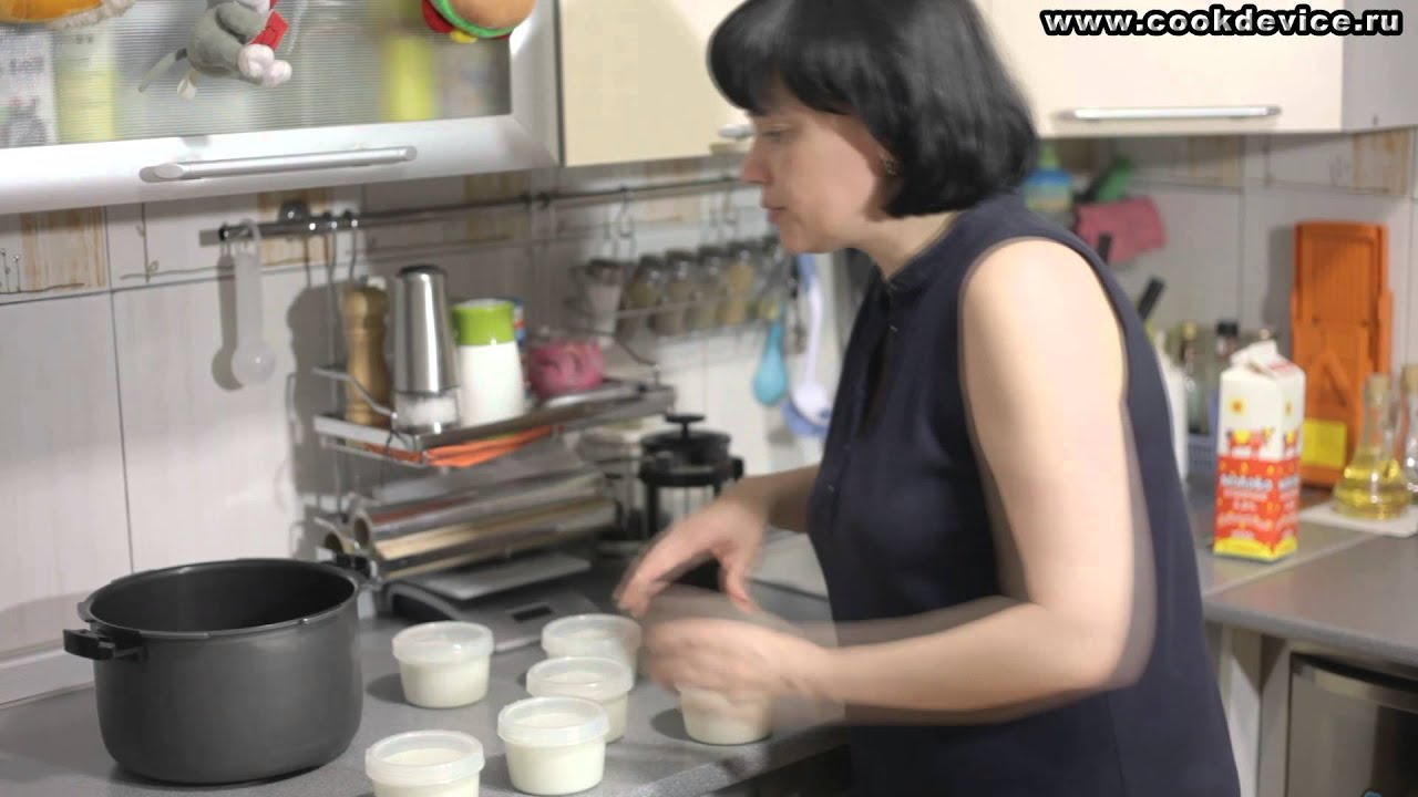 Как сделать йогурт из закваски наринэ в мультиварке