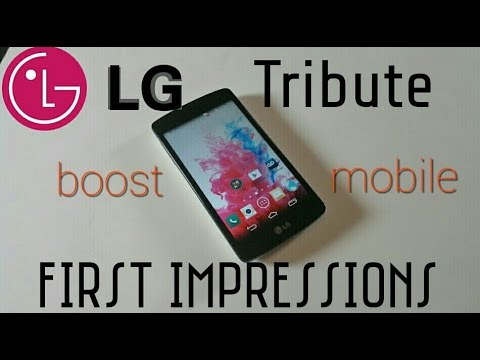 LG Tribute (Mini Review) Released November 2014 for Boost Mobile
