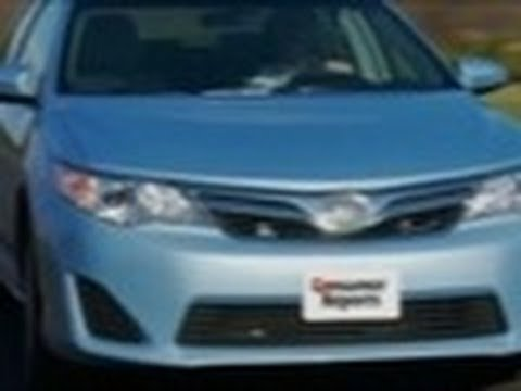 2012 Toyota Camry review from Consumer Reports