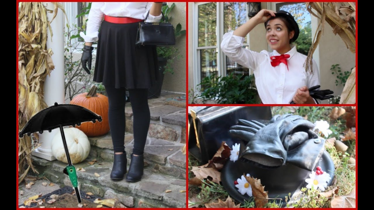 Mary Poppins Halloween Costume Hat Mary Poppins Diy Costume And