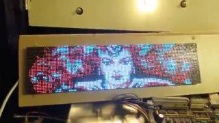 PIN2DMD color LED DMD and Capcom Pinball magic
