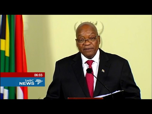 Jacob Zuma resigns as president of S. Africa