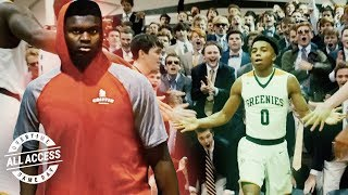 EXCLUSIVE Look At The Plan That Beat Zion Williamson! How Jalen Lecque Prepped For His JAM FAM Bro!