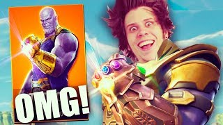 LA KILL LEGENDARIA A THANOS | Fortnite