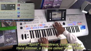 Spirit Soundtrack by Hans Zimmer- played on Tyros4