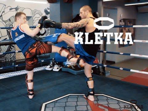 Защита от лоу-кика — техника ударов ногами в Тайском боксе с Андреем Басыниным