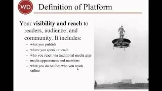 The 6 Key Components of an Online Author Platform | Writer's Digest Tutorials