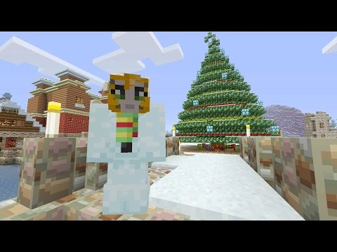 Minecraft Xbox Festive World Music Disc Hunt Part 1