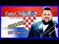 Croatia In Eurovision My Top 10 2000 2018 mp3