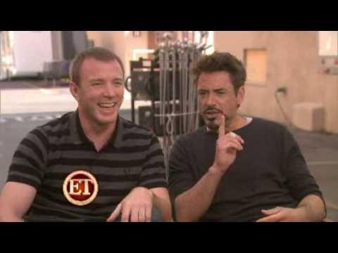 Robert Downey Jr. On The 'Sherlock Holmes' Set!
