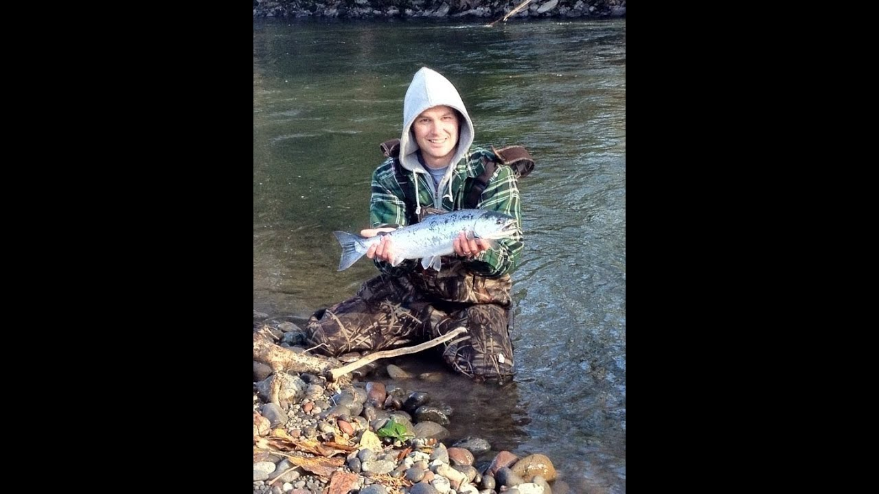 Puyallup river silver salmon coho youtube for Puyallup river fishing