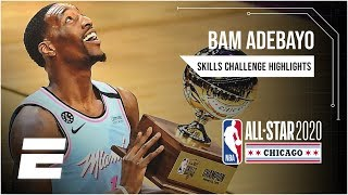 Bam Adebayo wins Taco Bell Skills Challenge | 2020 NBA All-Star Weekend