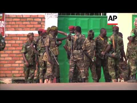Government soldiers on alert after fighting breaks out in part of the capital