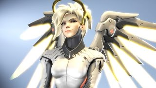 What 1000 Hours Of MERCY Experience Looks Like - Overwatch