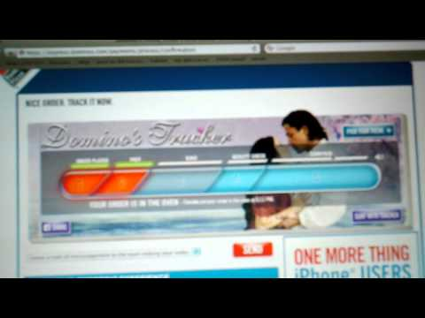 Domino's Pizza Online Tracking (1 of 2)