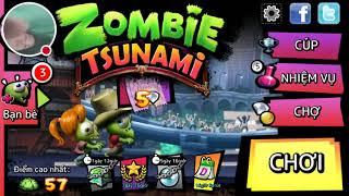 Luồng Zombie Tsunami của tôi