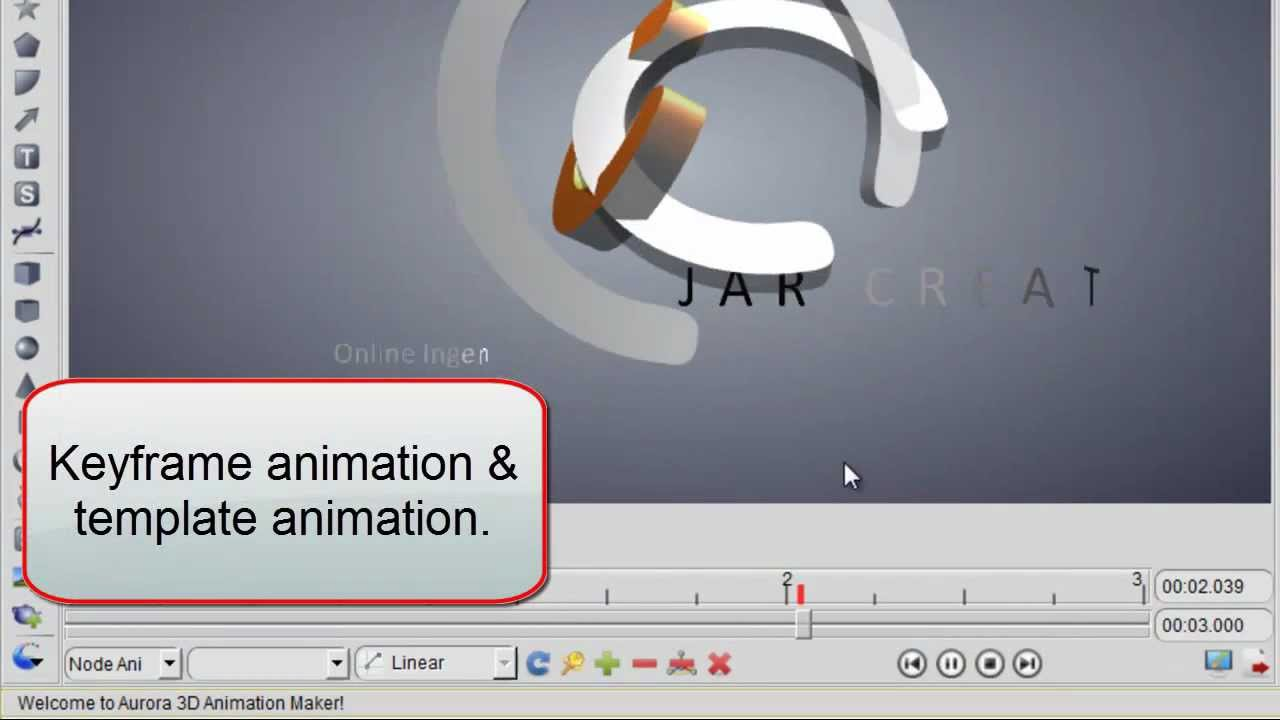 3D Text Animation Software