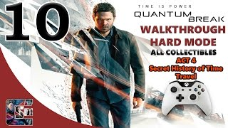 "Quantum Break Walkthrough - HARD - All Collectibles ACT 4 Part 1 ""Secret History of Time Travel"""