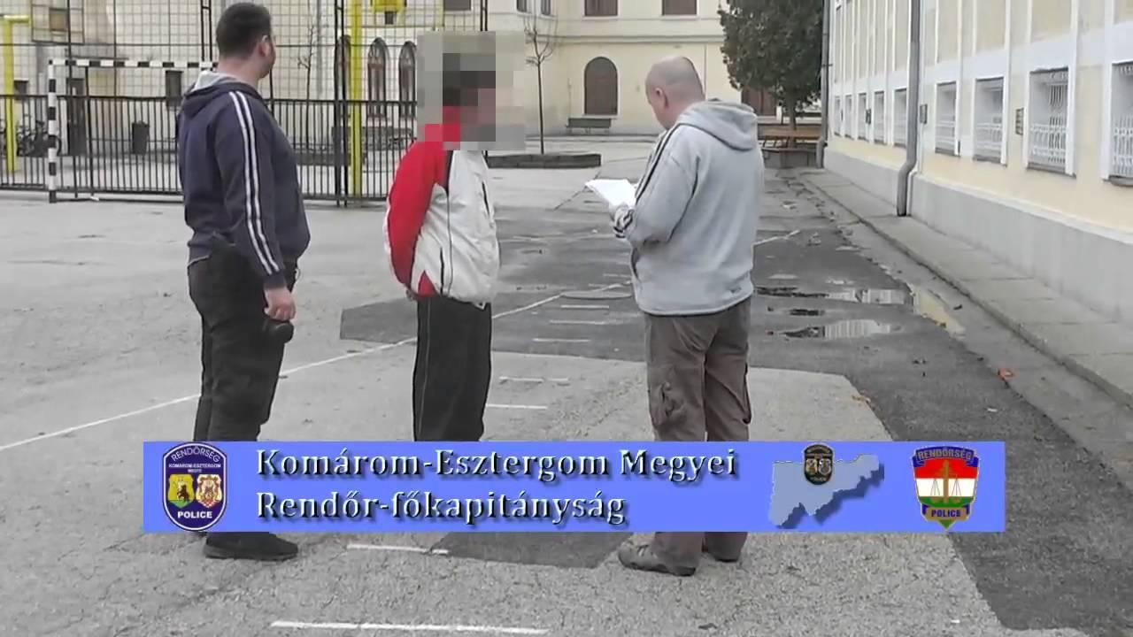 A börtön kapujából vitték rendőrségre a betörőt - videóval